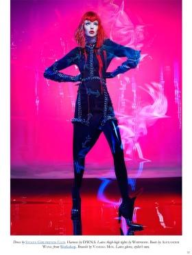 《Black》时尚大片 | 摄影 Thom Kerr