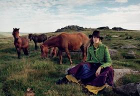 《Porter》#11 冬季刊时尚大片 | 摄影 Yelena Yemchuk