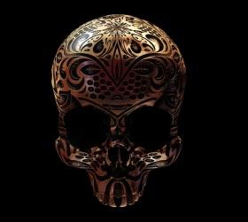 Billy Bogiatzoglou 骷髅艺术