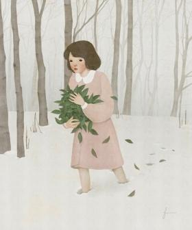 韩国艺术家Jiwoon Pak绘画作品