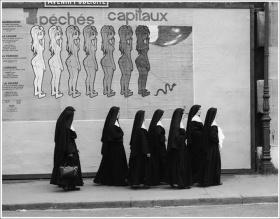 René Maltête街头摄影作品 | 法式幽默