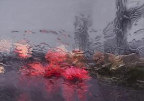 Gregory Thielker 超写实绘画 | 在雨中