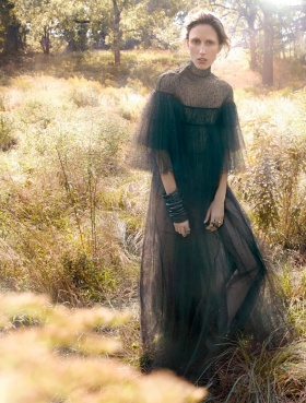 《Numéro 》#168 十一月刊时尚大片    摄影 Greg Kadel