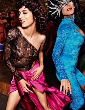 巴黎版地《Vogue》十一月刊时尚大片   摄影  Mario Testino