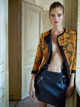 意大利版《Marie Claire》十一月刊时尚大片 | 摄影 Marcin Tyszka