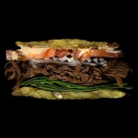 Jon Chonko美食摄影| 三明治解剖图