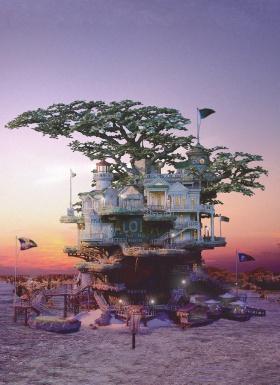 日本艺术家Takanori Aiba | 科幻盆景