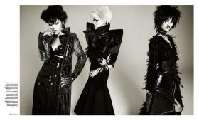 乌克兰版《Vogue》十一月刊时尚大片 | 摄影 Jack Waterlot