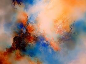 Simon Kenny 抽象油画