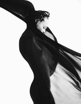 飘逸,Oliver Stalmans 黑白时尚摄影