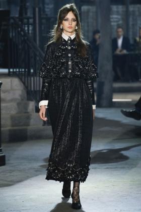 Chanel Métiers d'Art 2016 Paris in Rome