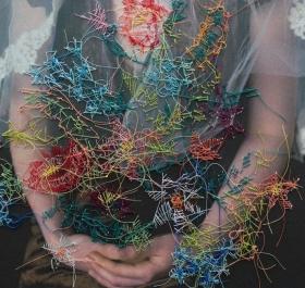 Melissa Zexter混合艺术 | 摄影&刺绣
