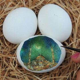Süreyya Noyan  | 蛋壳里的绘画