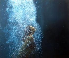Eric Zener绘画作品 | 沉入水底的美