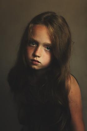 Ulyana Harinova 儿童肖像