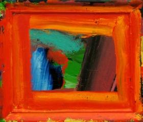 Howard Hodgkin 画框上的色彩