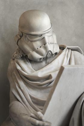 Travis Durden | 混合古典的星战雕塑