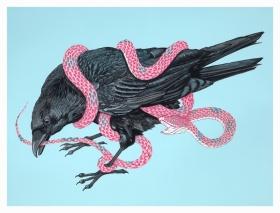 插画设计师Neil. M. Perry |动物与蛇