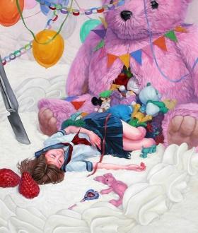 日本艺术家Kazuhiro Hori | 少女梦境