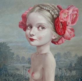 艺术家Jane Brike 绘画作品