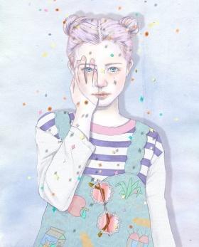 韩国画手Hyocheon Jeong的插画作品