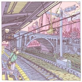 日本插画师 Shinji Tsuchimochi | 东京街头