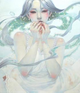 艺术家 Miho Hirano 唯美插画