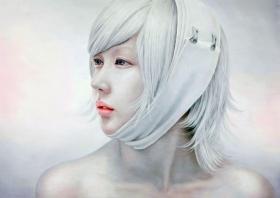 冷艳细腻   韩国艺术家Kwon Kyung Yup绘画作品