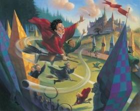 回忆么?未出版的哈利波特封面插图 / Unpublished Harry Potter illustrations by Mar