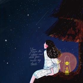 马来西亚插画师 Kathrin Honesta 绘画作品