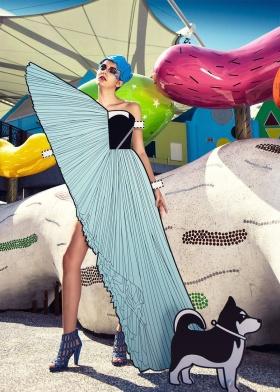 新锐摄影师Ajax Lee  | 纸制的时尚