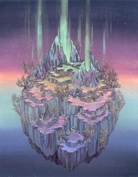 美国插画家Nicole Gustafsson 的魔幻世界