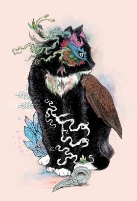 Mat Miller | 繁复奢华的动物插画
