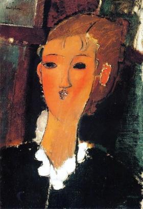 Amedeo Clemente Modigliani 肖像画