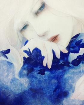黒木美都子(Kuroki Mitsuko )绘画作品