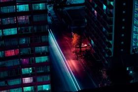 霓虹夜|Elsa Bleda
