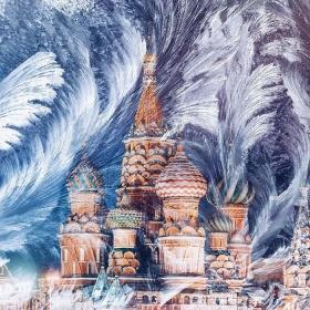 童话世界的美丽,冬日的莫斯科 | 摄影师Kristina Makeeva