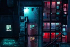 夜晚的城市 |摄影师Elsa Bleda