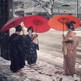 冬天的京都