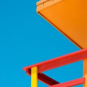 迈阿密海滩救援塔   摄影师Paolo Pettigiani
