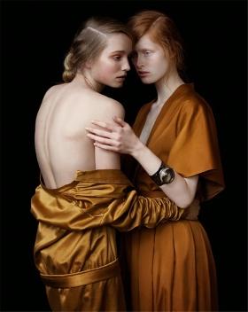 當時尚遭遇復古范兒--Julia Hetta作品