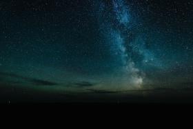 蓝色的风景  摄影师Nydia Lilian