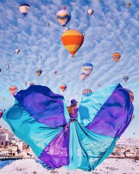 卡帕多西亚,热气球之旅   摄影师Kristina Makeeva