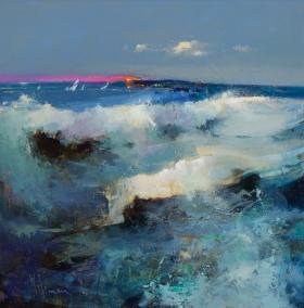 抽象画  艺术家Peter Wileman