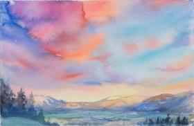 多彩天空  新西兰艺术家 Carla Hananiah 