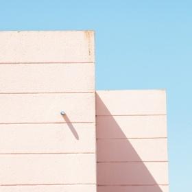 粉色的城市 |法国摄影师Matthieu Venot极简主义建筑摄影