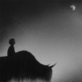 黑白水彩|印尼艺术家Elicia Edijanto