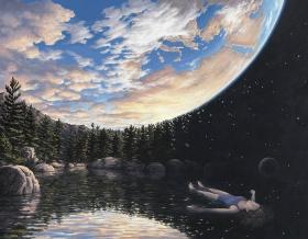 加拿大艺术家Rob Gonsalves的错觉艺术 