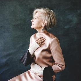 63岁的时尚博主Lyn Slater