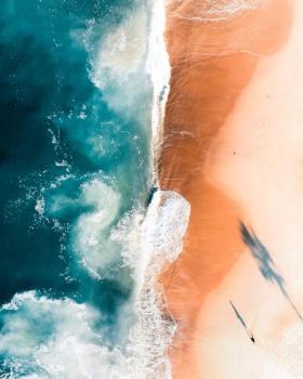 无人机航拍,拉古纳海滩 | 摄影师Mike Soulopulos 